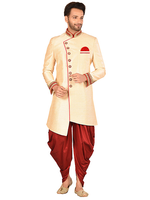 DESIGNER INDIAN SHERWANI-600025-M