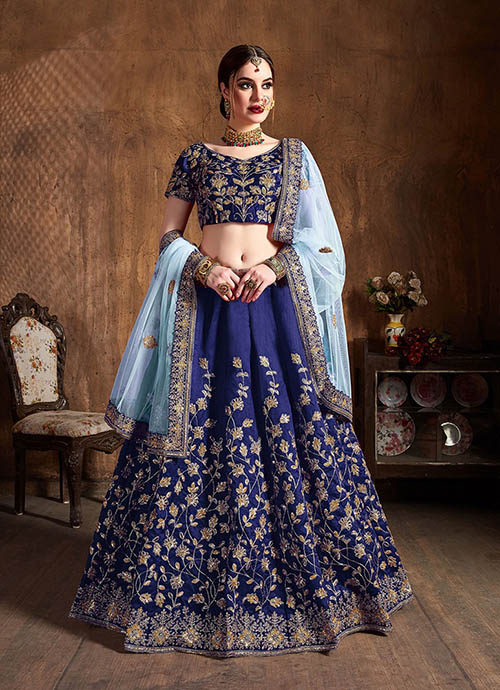 BEAUTIFUL INDIAN LEHENGA CHOLI - BT-LH-10131