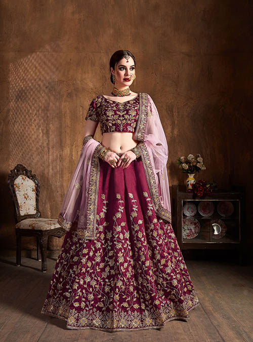 BEAUTIFUL INDIAN LEHENGA CHOLI - BT-LH-10132