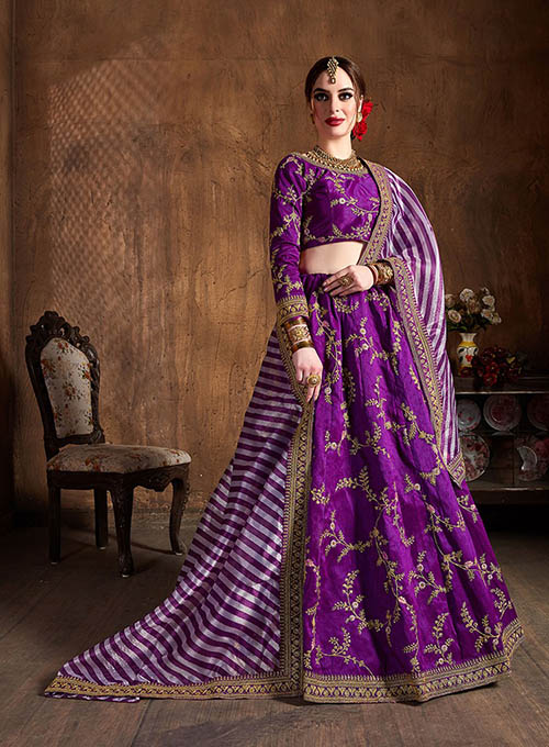 BEAUTIFUL INDIAN LEHENGA CHOLI - BT-LH-10144