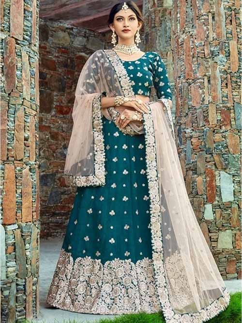 BEAUTIFUL INDIAN LEHENGA CHOLI - BT-LH-4193