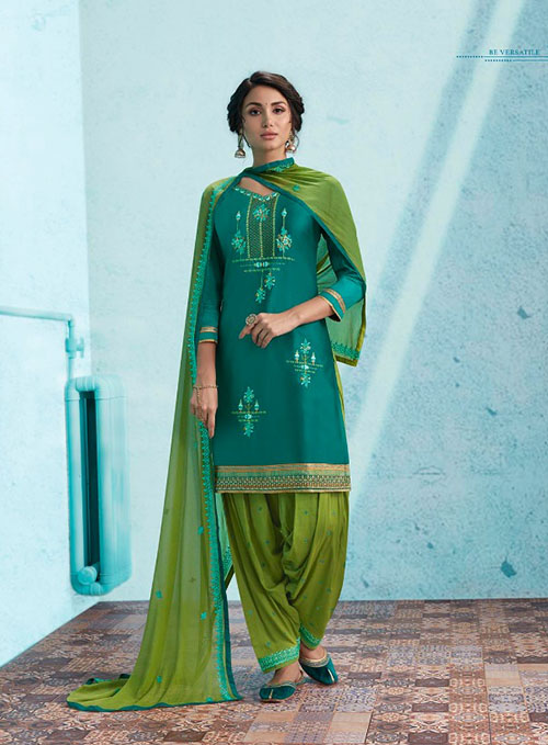 DESIGNER INDIAN SALWAR KAMEEZ - BT-SK-R-30153