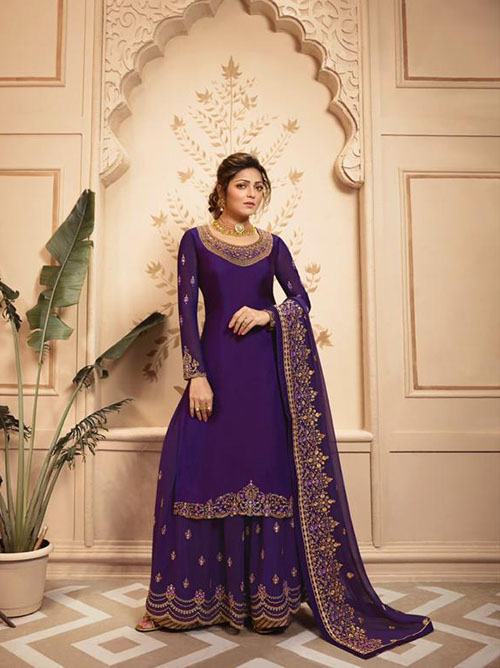 DESIGNER INDIAN SALWAR KAMEEZ - BT-SK-R-30119