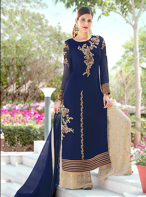 DESIGNER INDIAN SALWAR KAMEEZ - BT-SK-R-30121
