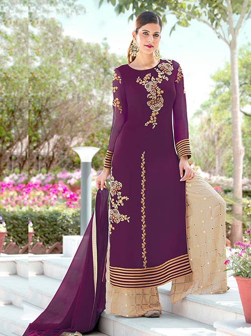 DESIGNER INDIAN SALWAR KAMEEZ - BT-SK-R-30122