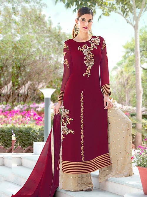 DESIGNER INDIAN SALWAR KAMEEZ - BT-SK-R-30123
