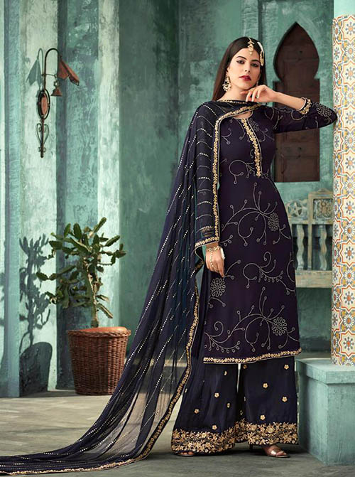 DESIGNER INDIAN SALWAR KAMEEZ - BT-SK-R-30140