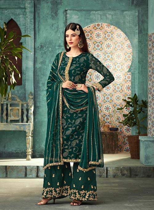 DESIGNER INDIAN SALWAR KAMEEZ - BT-SK-R-30141