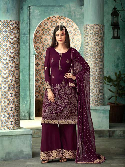 DESIGNER INDIAN SALWAR KAMEEZ - BT-SK-R-30142