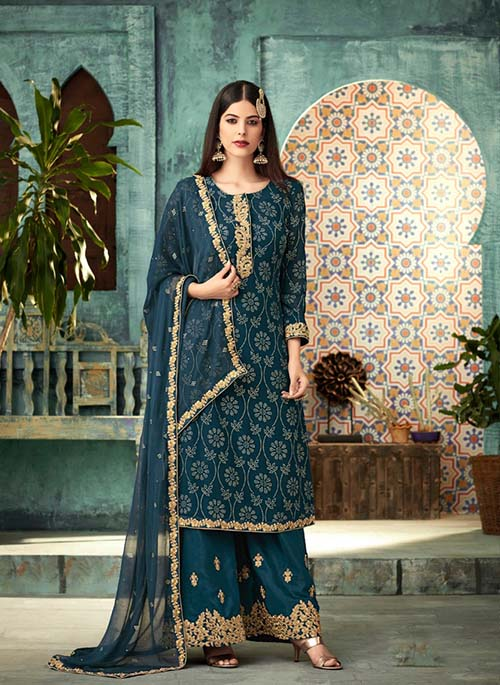 DESIGNER INDIAN SALWAR KAMEEZ - BT-SK-R-30143