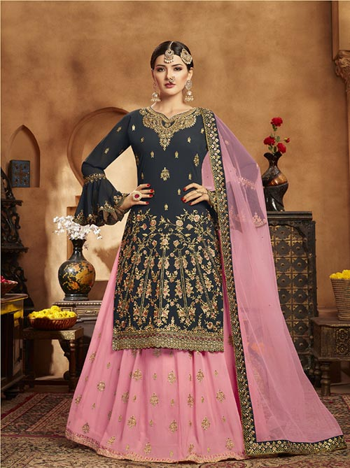 DESIGNER INDIAN SALWAR KAMEEZ - BT-SK-R-30173