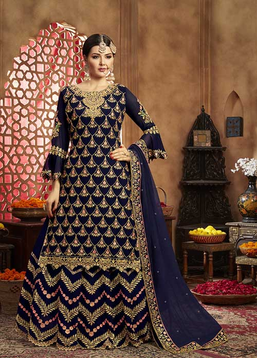DESIGNER INDIAN SALWAR KAMEEZ - BT-SK-R-30174
