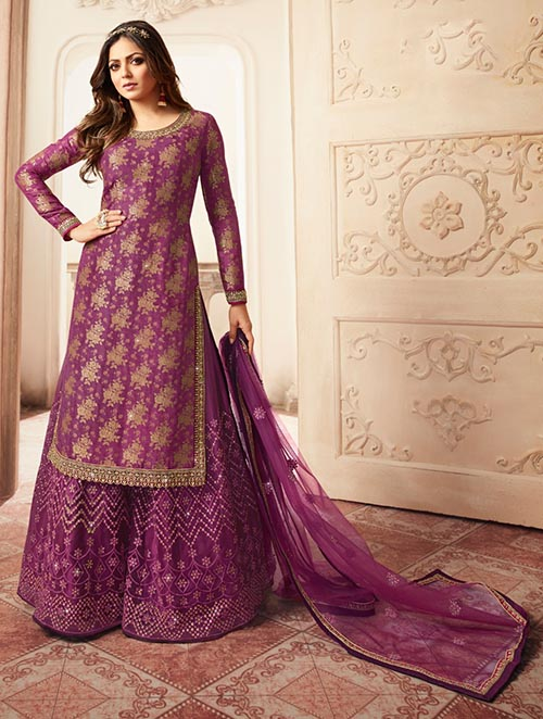 DESIGNER INDIAN SALWAR KAMEEZ - BT-SK-R-30183