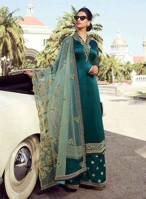 DESIGNER INDIAN SALWAR KAMEEZ - BT-SK-R-30200-L