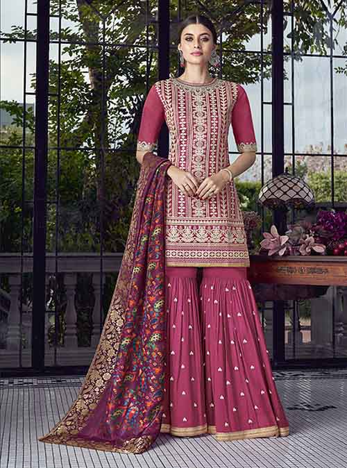 DESIGNER INDIAN SALWAR KAMEEZ - BT-SK-R-30211