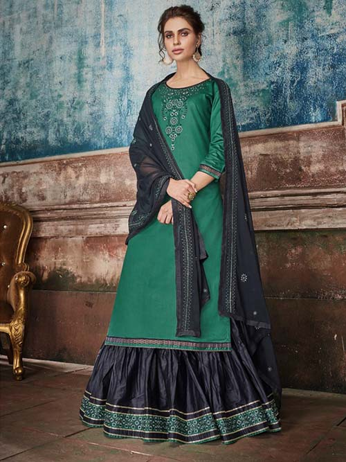 DESIGNER INDIAN SALWAR KAMEEZ - BT-SK-R-30221-3XL
