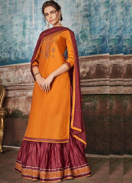 DESIGNER INDIAN SALWAR KAMEEZ - BT-SK-R-30224-3XL