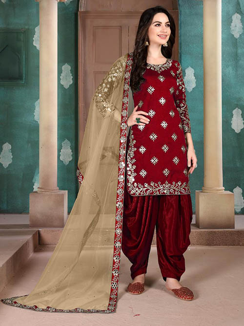 DESIGNER INDIAN SALWAR KAMEEZ - BT-SK-R-30254