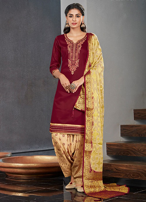 DESIGNER INDIAN SALWAR KAMEEZ - BT-SK-R-30290