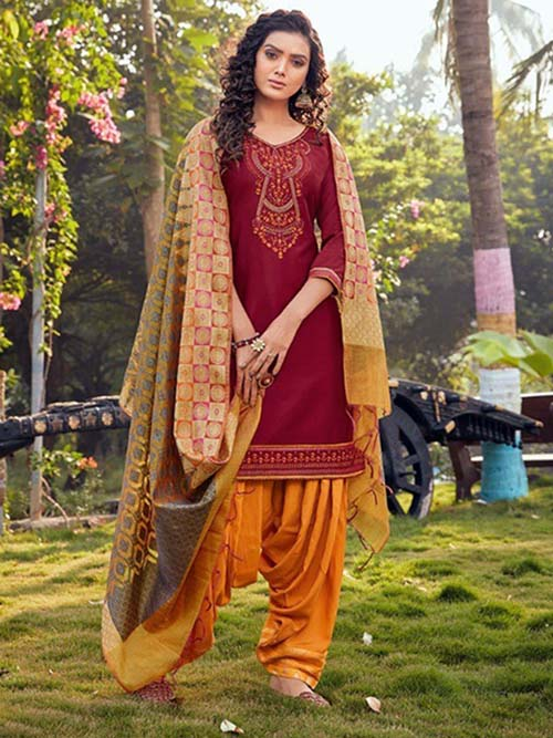 DESIGNER INDIAN SALWAR KAMEEZ - BT-SK-R-30354