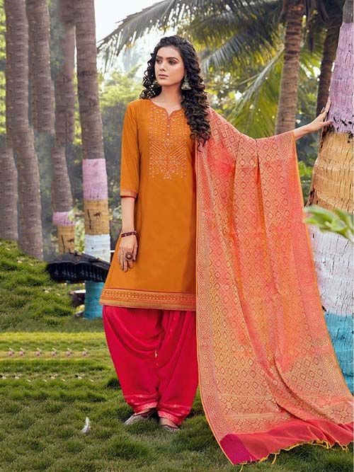 DESIGNER INDIAN SALWAR KAMEEZ - BT-SK-R-30355