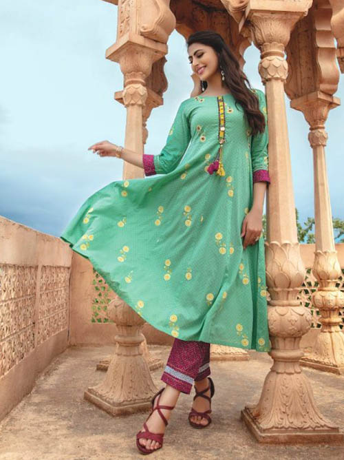 DESIGNER INDIAN SALWAR KAMEEZ - BT-SK-R-30382