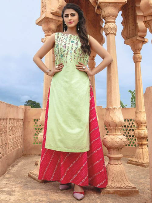 DESIGNER INDIAN SALWAR KAMEEZ - BT-SK-R-30387-XL