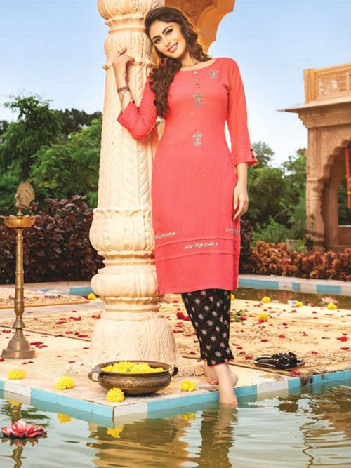 DESIGNER INDIAN SALWAR KAMEEZ - BT-SK-R-30388-XL