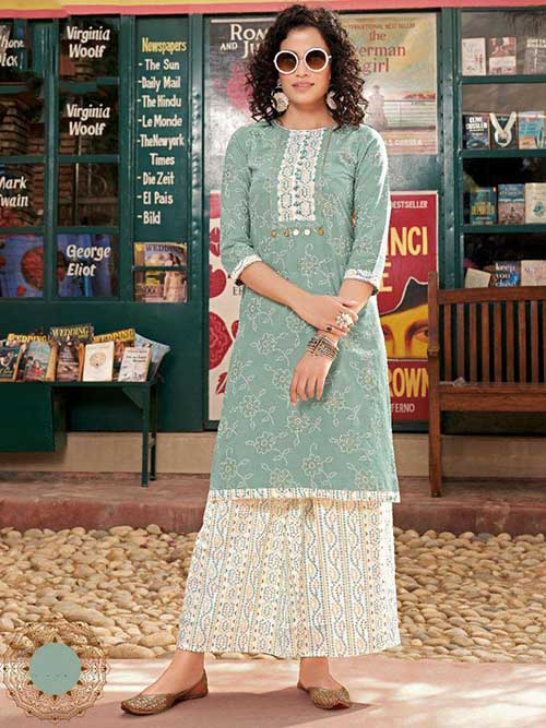 DESIGNER INDIAN SALWAR KAMEEZ - BT-SK-R-30413-3XL