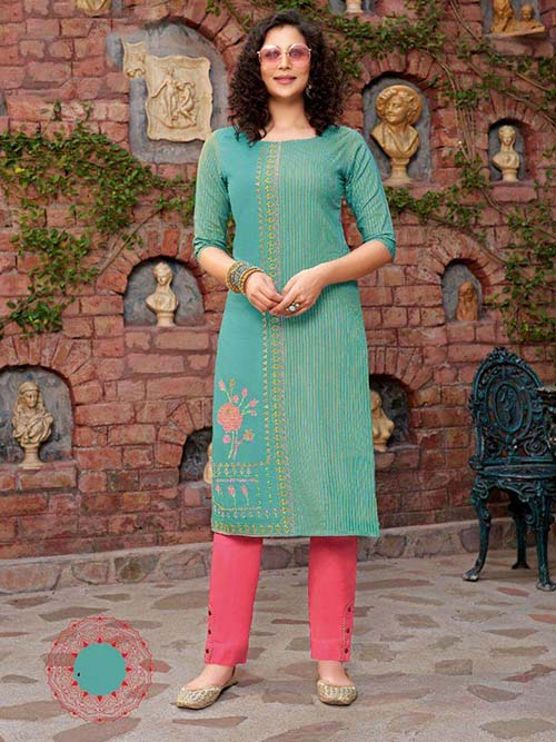 DESIGNER INDIAN SALWAR KAMEEZ - BT-SK-R-30415-3XL