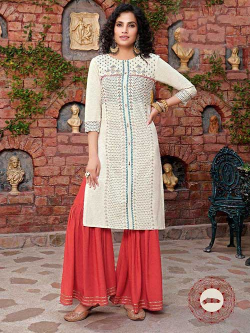 DESIGNER INDIAN SALWAR KAMEEZ - BT-SK-R-30416-3XL