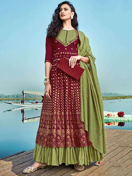 DESIGNER INDIAN SALWAR KAMEEZ - BT-SK-R-30422