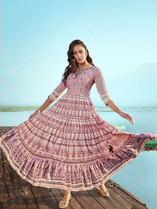 DESIGNER INDIAN SALWAR KAMEEZ - BT-SK-R-30423