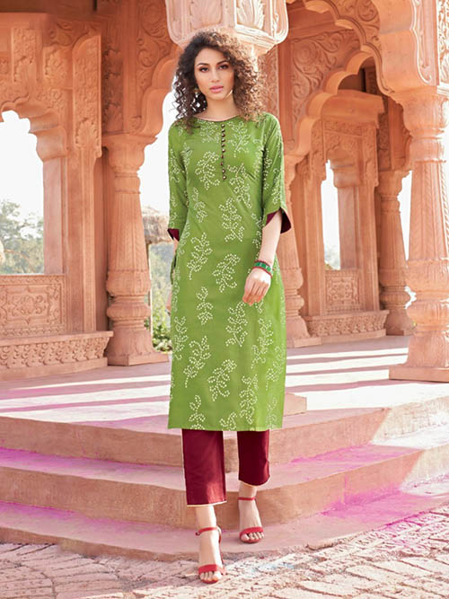 DESIGNER INDIAN KURTI - BT-K-R-90003-M