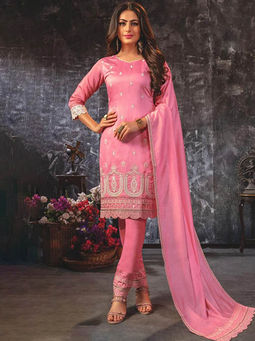 DESIGNER INDIAN SALWAR KAMEEZ - BT-SK-R-30457-L