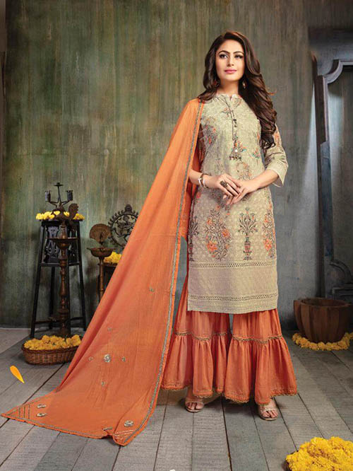DESIGNER INDIAN SALWAR KAMEEZ - BT-SK-R-30471-L