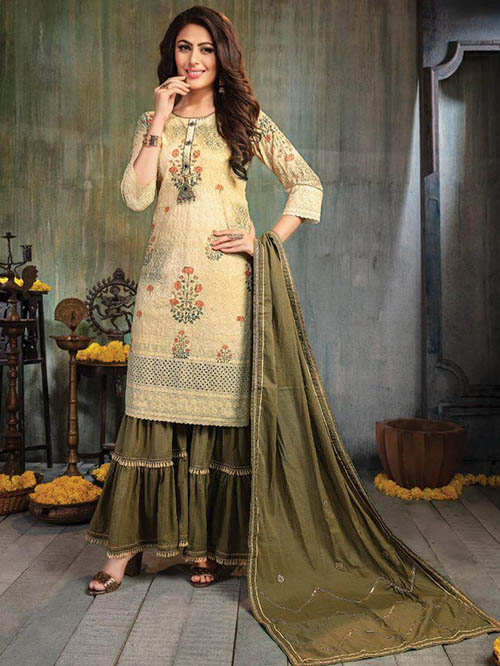 DESIGNER INDIAN SALWAR KAMEEZ - BT-SK-R-30473-L