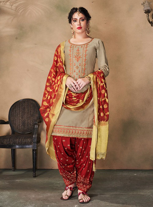 DESIGNER INDIAN SALWAR KAMEEZ - BT-SK-R-30501-XL