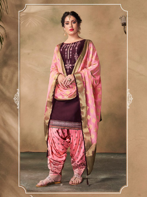 DESIGNER INDIAN SALWAR KAMEEZ - BT-SK-R-30504-XL
