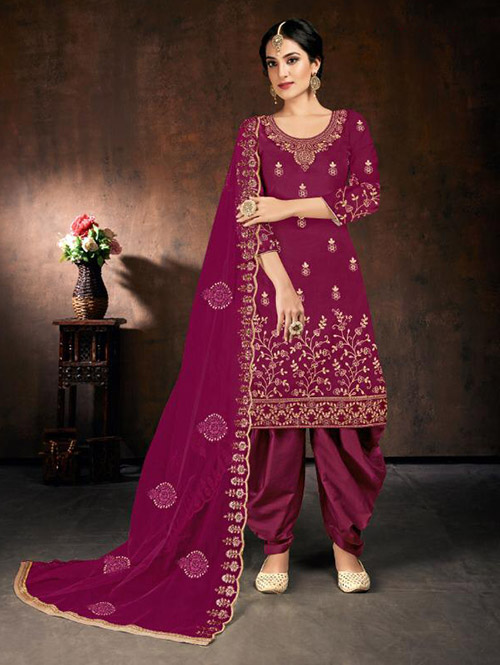 DESIGNER INDIAN SALWAR KAMEEZ - BT-SK-R-30511-3XL