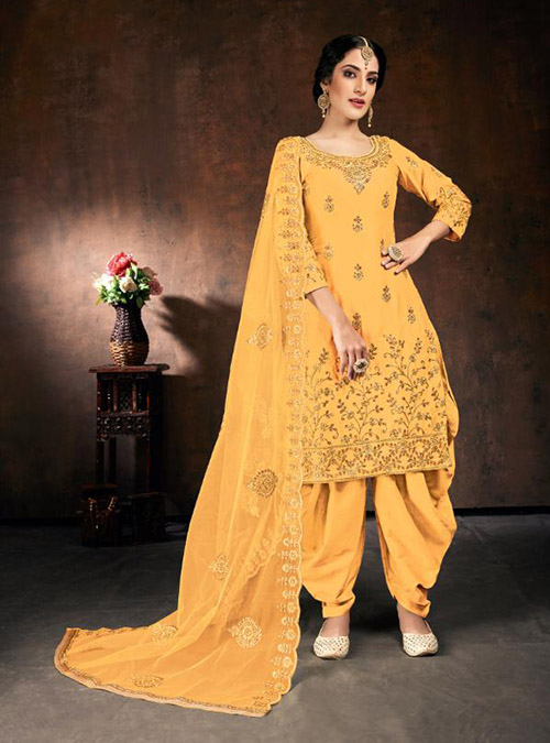DESIGNER INDIAN SALWAR KAMEEZ - BT-SK-R-30514-3XL