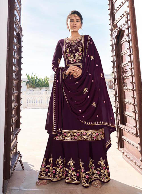 DESIGNER INDIAN SALWAR KAMEEZ - BT-SK-R-30515-L