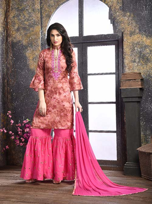 DESIGNER INDIAN SALWAR KAMEEZ - BT-SK-R-3838