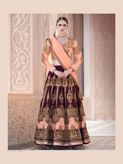 BEAUTIFUL INDIAN LEHENGA CHOLI- BT-LH4081