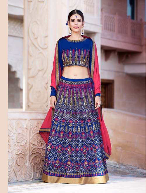 BEAUTIFUL INDIAN LEHENGA CHOLI- BT-LH4083