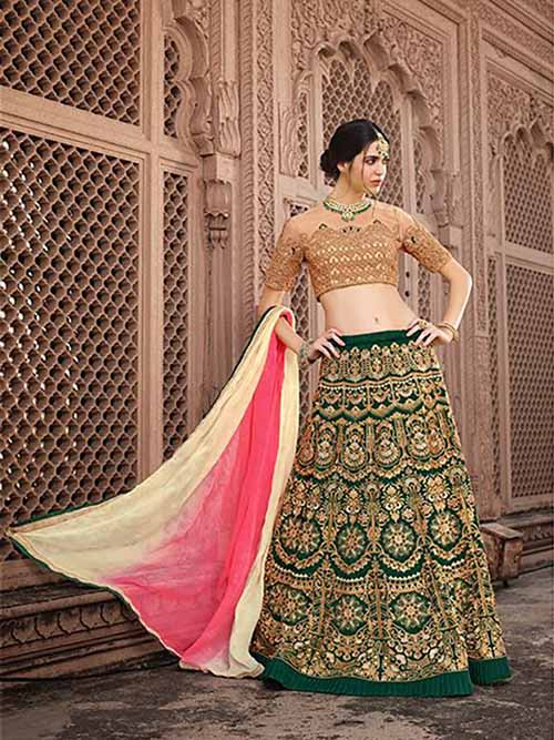 BEAUTIFUL INDIAN LEHENGA CHOLI - BT-LH4123