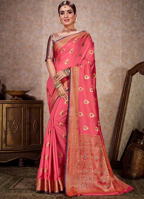PARTY WEAR INDIAN SILK SAREE - BT-SR-40247