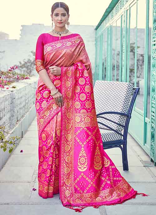 PARTY WEAR INDIAN SILK SAREE - BT-SR-40265
