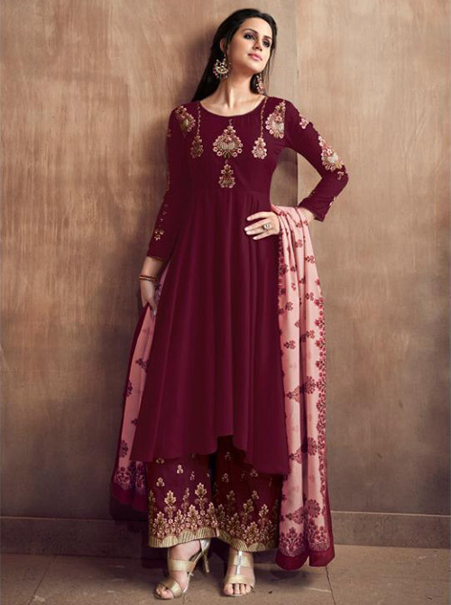 DESIGNER INDIAN SALWAR KAMEEZ - BT-SK-R-30076