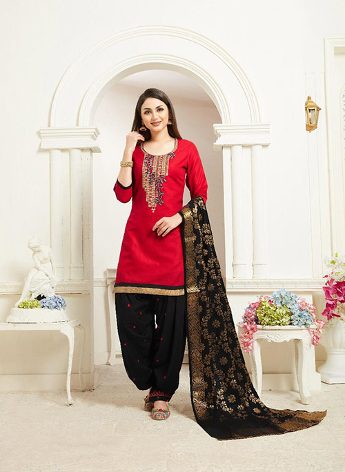 DESIGNER INDIAN SALWAR KAMEEZ - BT-SK-R-30028